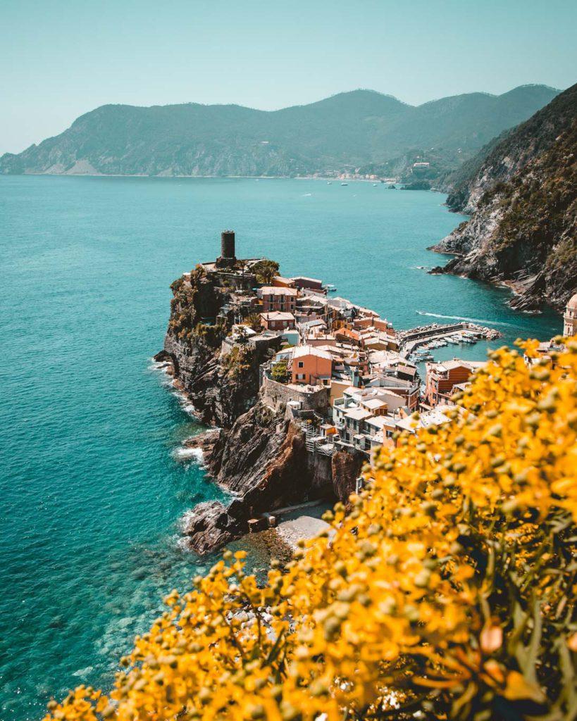 cinque terre italy genoa beautiful landscape